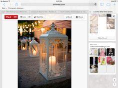 Extra lanterns to create whimsical theme