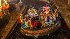 Celebrate adventure, fantasy, the past, the future and the imagination! Look at this Walt Disney World attraction.
