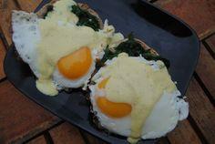 Healthy Eggs Florentine - 300 calories