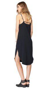 Winslet Dress-Black-side | Gentle Fawn