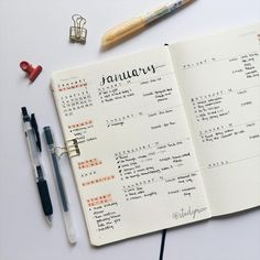 Bullet Journal Notes, Bullet Journal 2019, Bullet Journal Layout, Journal Writing Prompts, Journal Pages, Journal Notebook, Bujo, Bullet Journel, Ideas Para Organizar