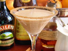 Pumpkin Pie Martini ~ Top-shelf Style