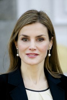 Queen Letizia and King Felipe VI received the President of Colombia Juan Manuel Santos and Maria Clemencia Rodriguez de Santos at El Pardo Royal Palace on March 1, 2015 in Madrid, Spain