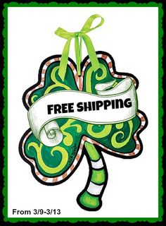 FREE Shipping for a limited time Lisa Frost 4 Leaf Clover