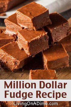 homemade-millionaire-fudge