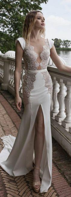 charming Coral Prom Dresses Long,eveniong Dresses,high slit Prom
