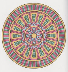 Magical Mandalas 021 done with alcohol markers Mandala Coloring, Colouring, Coloring Pages, Creative Haven Coloring Books, Alcohol Markers, Neon Colors, Sacred Geometry, Color Inspiration, Zentangle