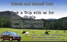 Shimla and #Manali_Tour- Shimla Manali Dalhousie #Chandigarh Delhi Tour by Car, visit- http://shimlaandmanalitour.com/tour-package/shimla-manali-chandigarh-trip/