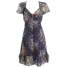 Who Else Wants to Find the 19 Cutest Floral Tea Dresses? Kimono Style Dress, Kimono Fashion, Fashion Dresses, Shirt Dress, Tea Dresses, Vintage Dresses, Summer Dresses, Floral Tea Dress, Short Sleeve Dresses