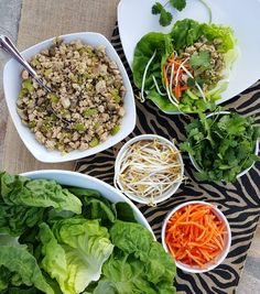Clean Eating Turkey Lettuce Wraps http://cleanfoodcrush.com/turkey-lettuce-wraps