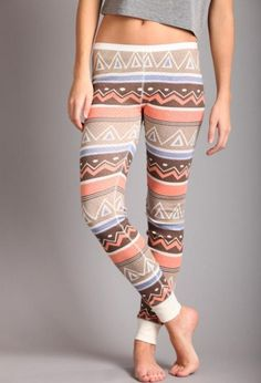 Love these.. wouldn't be wearing them with a short top.. But I want them!