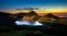 Lago Enol. Covadonga. Asturias
