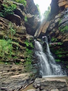 Akaa Falls, Ghana (photo by Lauren Hall-Lew)  There are some beautiful waterfalls!
