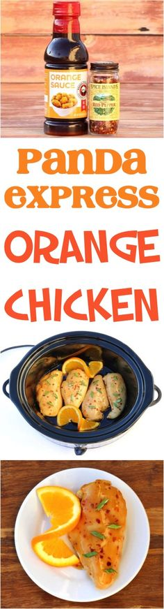 Panda Express Orange Chicken Recipe! This easy copycat version of your favorite takeout is SO delicious... just 3 ingredients!