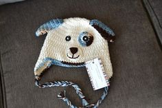 Knotty Knotty Crochet: precious puppy hat FREE PATTERN.