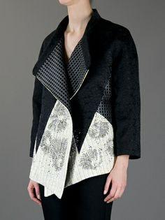 ANTONIO MARRAS oversized contrast jacket