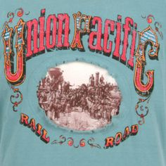UNION PACIFIC TEAR OUT T-SHIRT | Apparel | Welcome to the Union Pacific shop