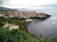 Maia, Sao Miguel, Azores ... village where my de Braga/Mello Castanho's were from