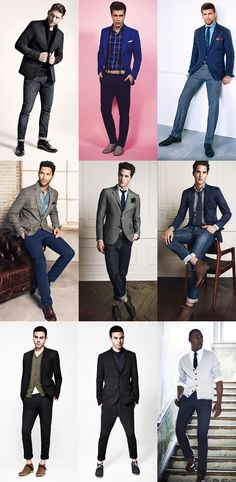 I would like to wear some of these things on a date.  The look is clean and solid.