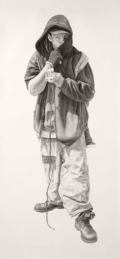 Charcoal and graphite drawings by artist Joel Daniel Phillips who lives and works in San Francisco. More below. Joel Daniel Phillips' Website