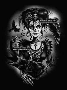 Day of the Dead Art Day of the Dead Picture Dia by MarcusJonesArt
