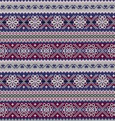 If you're looking to wear something that exudes winter spirit, look no further than a Fair Isle sweater. Fair Isle originally comes from an island of the same name in Scotland, but is now any… Fair Isle Knitting Patterns, Knitting Blogs, Knitting Charts, Knitting Designs, Knitting Stitches, Free Knitting, Knitting Machine, Motif Fair Isle, Fair Isle Chart