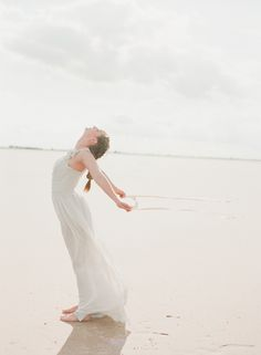 Ballerina Bride and Pale Blue Wedding Ideas | Wedding Sparrow | Magnolia Adam's Photography