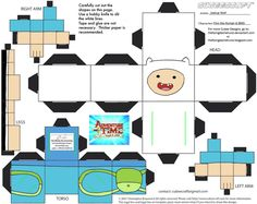 CE1: Finn the Human and BMO Cubees by TheFlyingDachshund