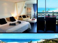 Tortola beach 5302 Splendide studio r�nov� vue mer Mont Vernon Baie Orientale � Saint-Martin SXM - Location Studio #SaintMartin #MontVernon