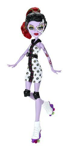 Fresh Monster High Roller Maze Operetta Doll Amazon de Spielzeug