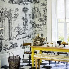 Esszimmer Wohnideen Möbel Dekoration Decoration Living Idea Interiors home dining room - Moderne toile Esszimmer