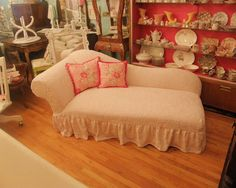 I would like this chaise but in a different fabric