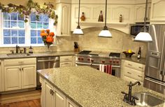 Country kitchen accents new kitchen decorating ideas,simple small kitchen design ideas white kitchen decorating ideas,modular kitchen cabinets images modular kitchen pics. Small Kitchen Renovations, Small Galley Kitchens, Galley Kitchen Remodel, Bright Kitchens, Dream Kitchens, Elegant Kitchens, Country Kitchens, House Renovations, Luxury Kitchens