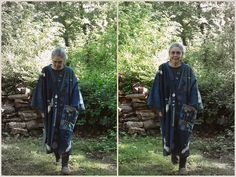 Jude Hill, the bird robe