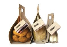 easy carry potato packaging