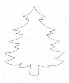Printable Christmas Ornament Templates   Christmas Tree Template to Print - Brotherbangun.net