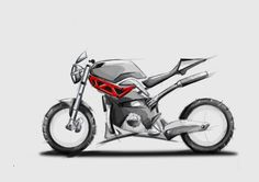 Ducati Concept Street Monster by Caio Palazzi Coelho at Coroflot