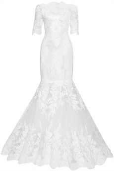 Marchesa Embellished lace and tulle gown | NET-A-PORTER