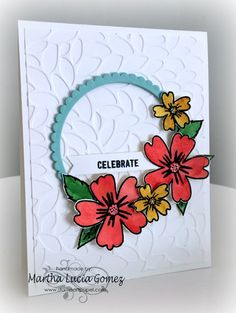 Love and Affection, Circle framelits, Stampin Up