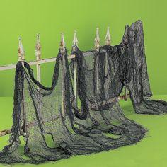 "4 yards x 30"" CREEPY CLOTH - spooky halloween decoration #halloween"