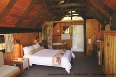 Beautiful rooms at Tsitsikamma Lodge & Spa. Allure Spa, Storms, Cabin, River, Bed, Building, Room, Furniture, Beautiful