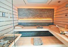 sauna wohnen - Google-Suche Sauna, Alcove, Bathtub, Bathroom, Google, Searching, Homes, Standing Bath, Washroom