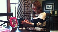 Jamberry Nails - How to apply tutorial using Pull/Stretch Method Application 2013