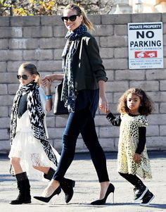 Our eyes are on Heidi Klum's adorable daughter Leni in awesome aviators! What a mini eye-spiration!