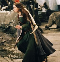 Green Dress Anna Popplewell