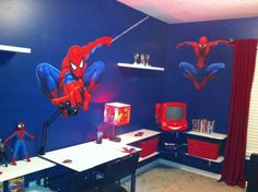 Spiderman lovers just make it your dream room.