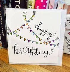 1001 Ideen Wie Sie Eine Geburtstagskarte Basteln 2019