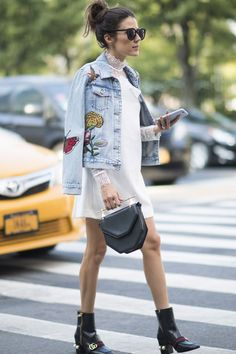 Get Your Street Style Fix Straight From Fashion Week                                                                                                                                                     More