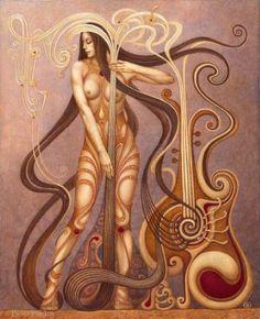 """Saatchi Art Artist Boris Indrikov; Painting, """"MYSTERIUM"""" #art"""