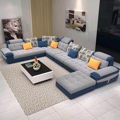 İlgili resim Living Room Sofa Design, Living Room Sets, Living Room Interior, Living Room Designs, Contemporary Living Room Furniture, Home Decor Furniture, Sofa Furniture, Luxury Furniture, Modern Furniture